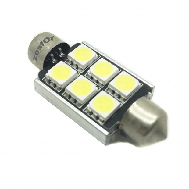 Bombilla LED CANBUS c5w / festoon 36, 39, 41mm TIPO 17