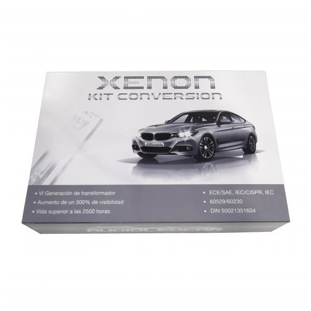 Kit xenon H1 6000k 4300k - Tipo 1 ESTANDAR 35W